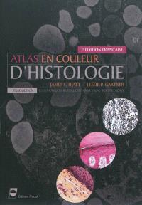Atlas en couleur d'histologie