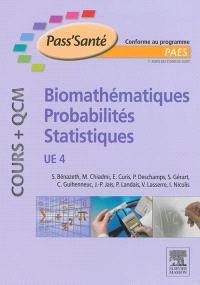 Biomathématiques, probabilités, statistiques, UE 4 : conforme au programme PAES