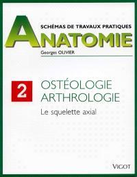 Schémas de travaux pratiques. Volume 2, Le Squelette axial