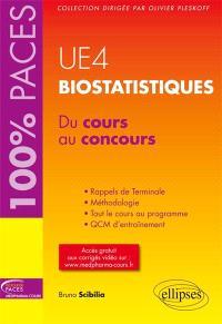 UE4, biostatistiques : du cours au concours
