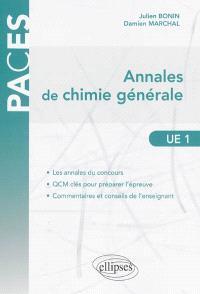Annales de chimie générale, UE 1