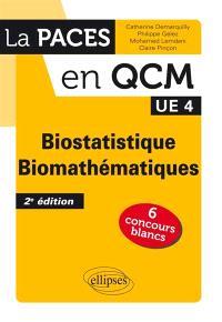 Biostatistique, biomathématiques, UE 4