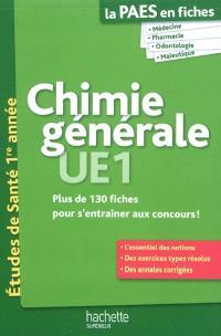 Chimie générale UE1 : plus de 130 fiches pour s'entraîner aux concours !