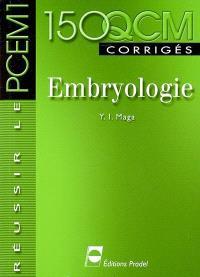 Embryologie : 150 QCM corrigés