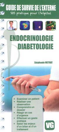 Endocrinologie, diabétologie