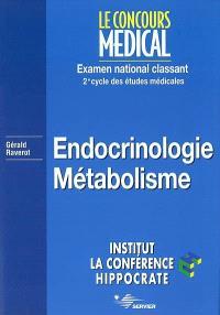 Endocrinologie, métabolisme