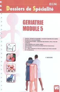 Gériatrie Module 5