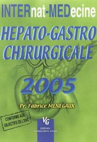 Hépato-gastro-entérologie chirurgicale