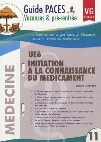 Initiation à la connaissance du médicament UE6