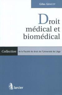 Le droit médical et biomédical