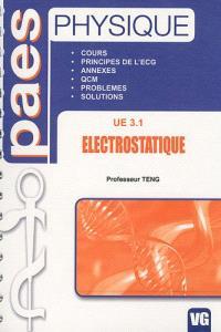 Physique : électrostatique, UE3.1