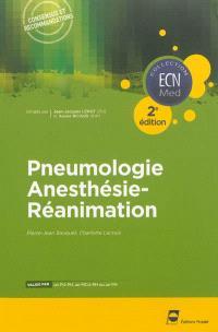 Pneumologie, anesthésie-réanimation
