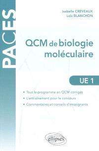 QCM de biologie moléculaire : UE1