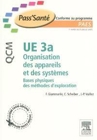 UE 3a Organisation des appareils et des systèmes : bases physiques des méthodes d'exploration