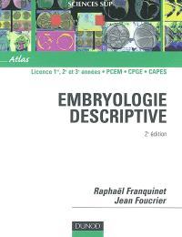 Embryologie descriptive