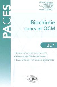 Biochimie cours et QCM, UE1