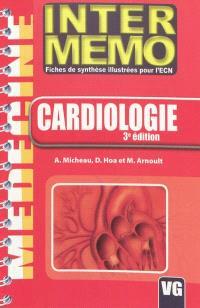 Cardiologie : fiches de synthèse illustrées pour l'ECN