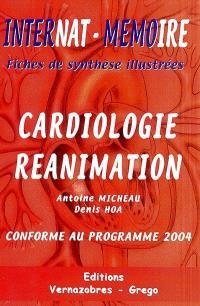 Cardiologie-réanimation : conforme au programme 2004