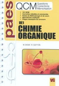 Chimie organique UE1 : questions, corrections, mémorisation