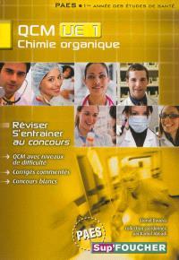 Chimie organique, QCM UE 1, PAES