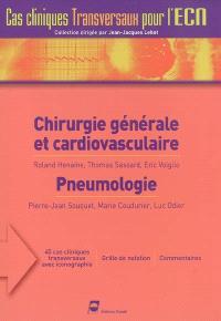 Chirurgie générale et cardiovasculaire. Pneumologie