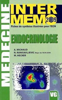 Endocrinologie : fiches de synthèse illustrées pour l'ECN