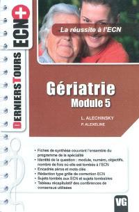 Gériatrie, module 5