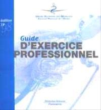 Guide d'exercice professionnel