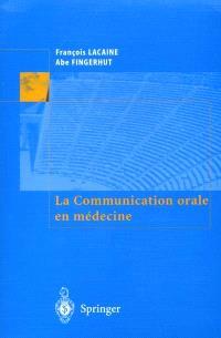La communication orale en médecine