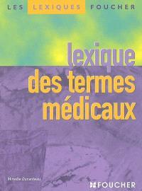 Lexique des termes médicaux