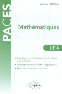 Mathématiques : UE 4