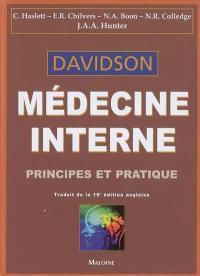Médecine interne : principes et pratique