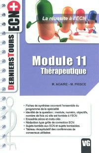 Module 11, thérapeutique