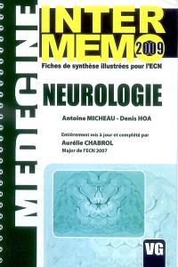Neurologie : fiches de synthèse illustrées pour l'ECN