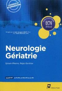 Neurologie, gériatrie
