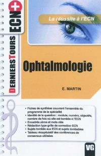 Ophtalmologie : la réussite à l'ECN