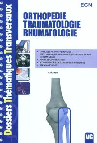 Orthopédie traumatologie rhumatologie ECN