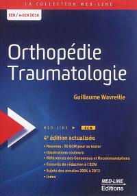 Orthopédie, traumatologie : ECN-e-ECN 2016