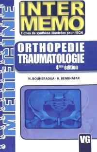 Orthopédie, traumatologie : fiches de synthèse illustrées pour l'ECN