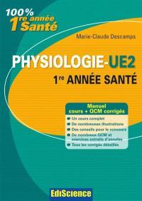 Physiologie L1 santé : cours, QCM et annales corrigés