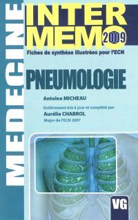 Pneumologie : fiches de synthèse illustrées pour l'ECN : 2009