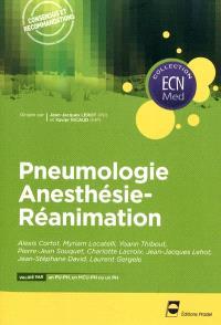 Pneumologie, anesthésie-réanimation : consensus et recommandations