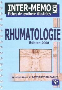 Rhumatologie : internat-mémoire, fiches de synthèse illustrées ECN