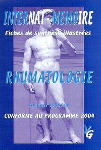 Rhumatologie : internat-mémoire, fiches de synthèse illustrées, conforme au programme 2004