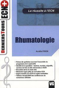 Rhumatologie : la réussite à l'ECN