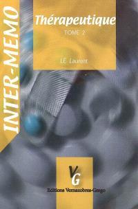 Thérapeutique. Volume 2