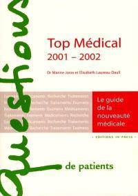 Top médical 2001-2002