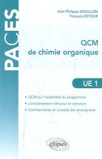UE1 QCM de chimie organique
