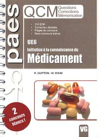 UE6, initiation à la connaissance du médicament : QCM