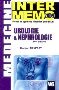 Urologie & néphrologie : fiches de synthèse illustrées pour l'ECN : 2009